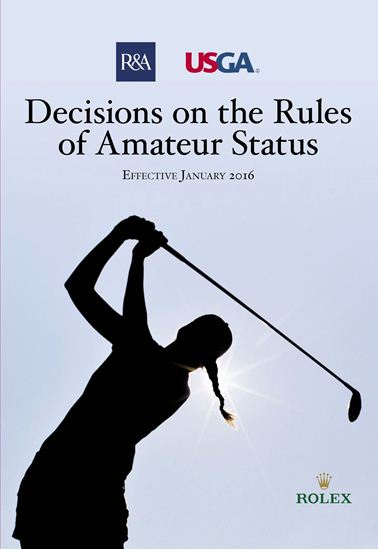 The official interpretation of the Rules of Amateur Status