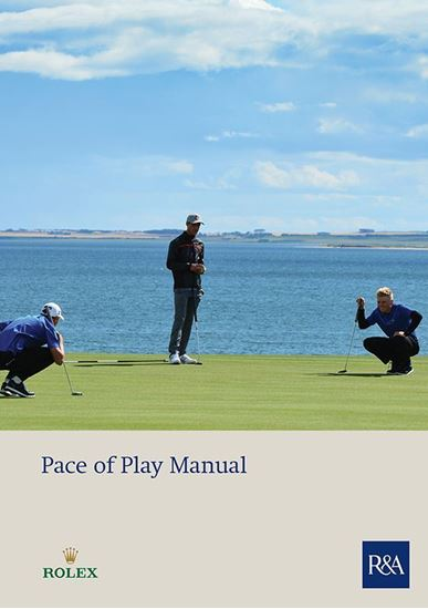 Cover for Pace of Play Manual