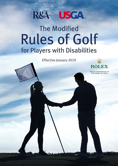 2019 Modified Rules of Golf for Players with Disabilities